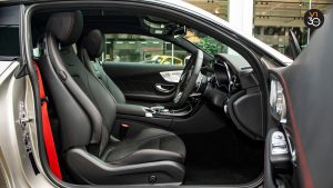 Mercedes C43 Coupe 4MATIC AMG - Driver Seat