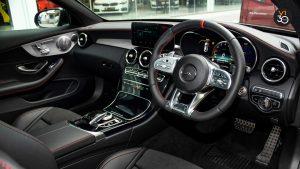 Mercedes C43 Coupe 4MATIC AMG - Interior Dash