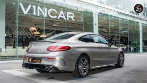 Mercedes C43 Coupe 4MATIC AMG - Rear Angle