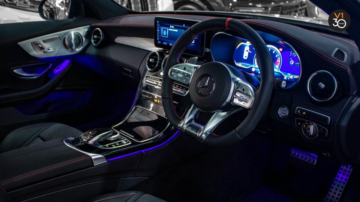 Mercedes C43 Coupe 4MATIC AMG - Steering Wheel