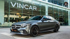 Mercedes-AMG C43 Saloon AMG 4matic Premium Plus - Front Angle
