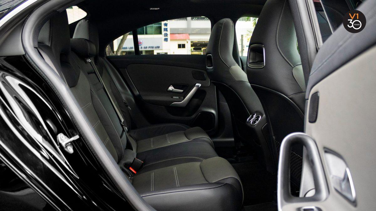Mercedes CLA180 Coupe AMG Premium Plus - Backseat