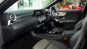 Mercedes CLA180 Coupe AMG Premium Plus - Front Interior