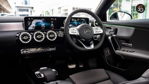Mercedes CLA180 Coupe AMG Premium Plus - Infotainment System