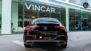 Mercedes CLA180 Coupe AMG Premium Plus - Rear Direct