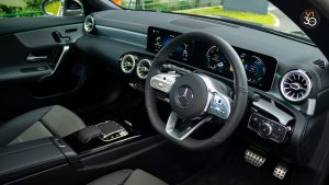 Mercedes CLA180 Coupe AMG Premium Plus - Steering Wheel