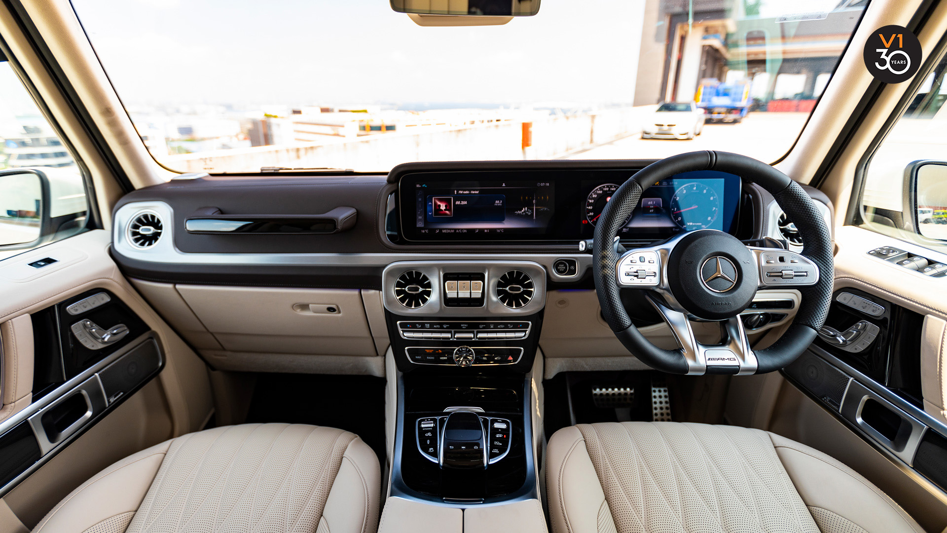 Mercedes G63 AMG - Infotainment System