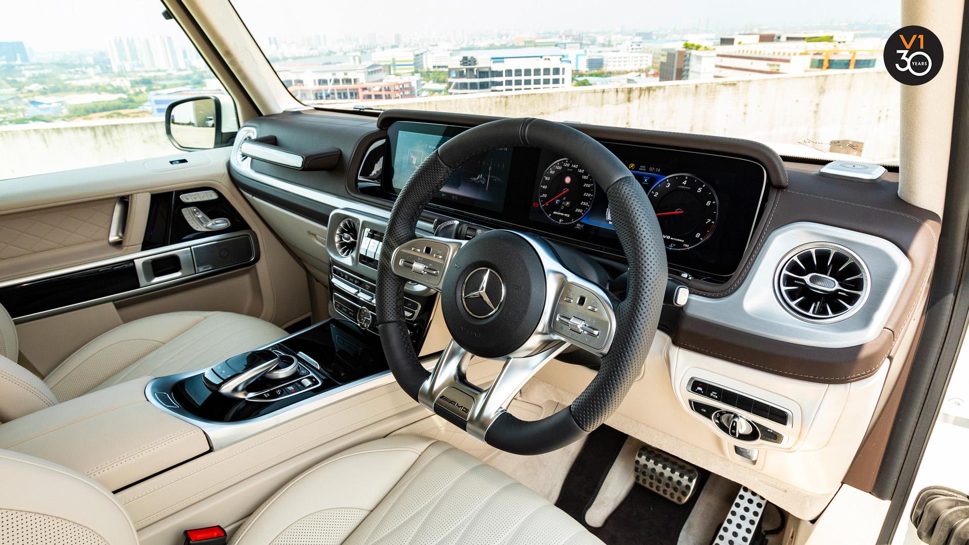 Mercedes G63 AMG - Steering Wheel