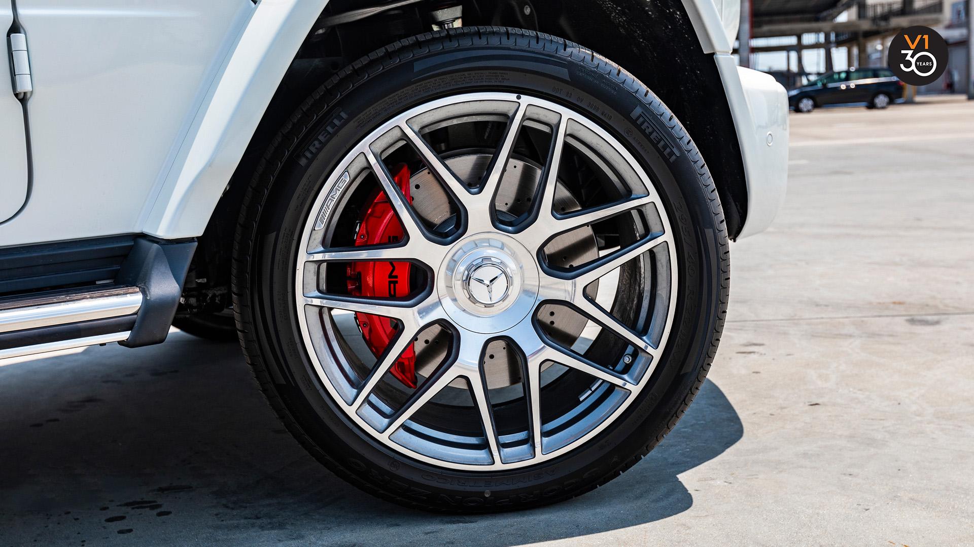 Mercedes G63 AMG - Wheels