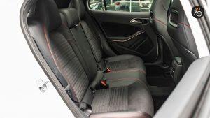 Mercedes GLA200 AMG Line - Backseat