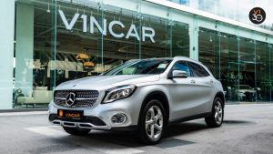 Mercedes GLA200 Sports - Front Angle