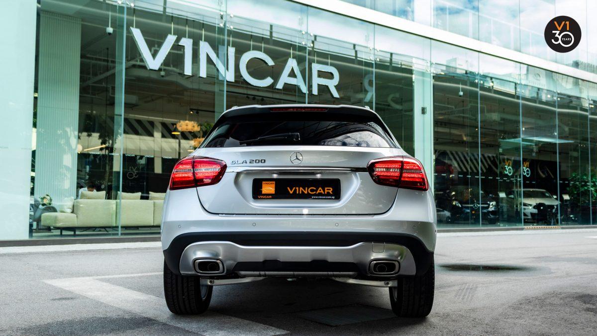 Mercedes GLA200 Sports - Rear Direct