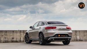 Mercedes GLC300 Coupe 4MATIC AMG Premium Plus - Back Angle