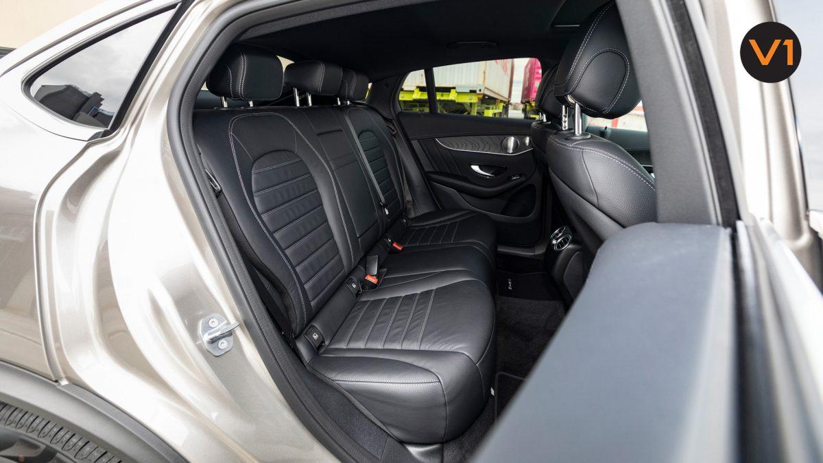 Mercedes GLC300 Coupe 4MATIC AMG Premium Plus - Back Seats