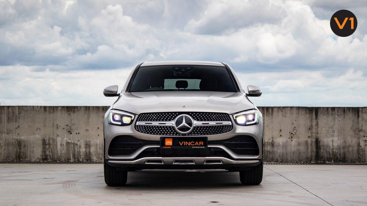 Mercedes GLC300 Coupe 4MATIC AMG Premium Plus - Direct Front