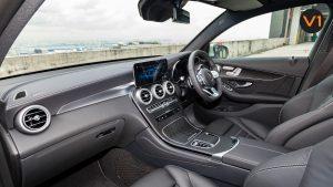 Mercedes GLC300 Coupe 4MATIC AMG Premium Plus - Interior Dash
