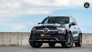 Mercedes GLE450 AMG 4Matic Premium Plus - Front Lower Angle