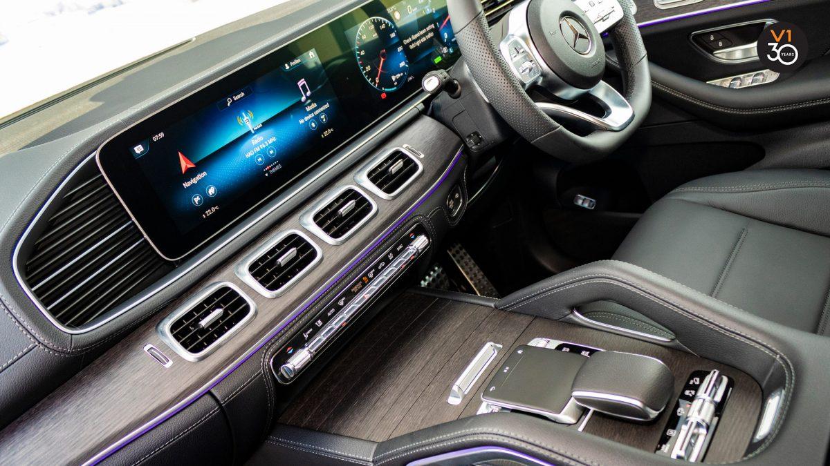 Mercedes GLE450 AMG 4Matic Premium Plus - Infotainment System