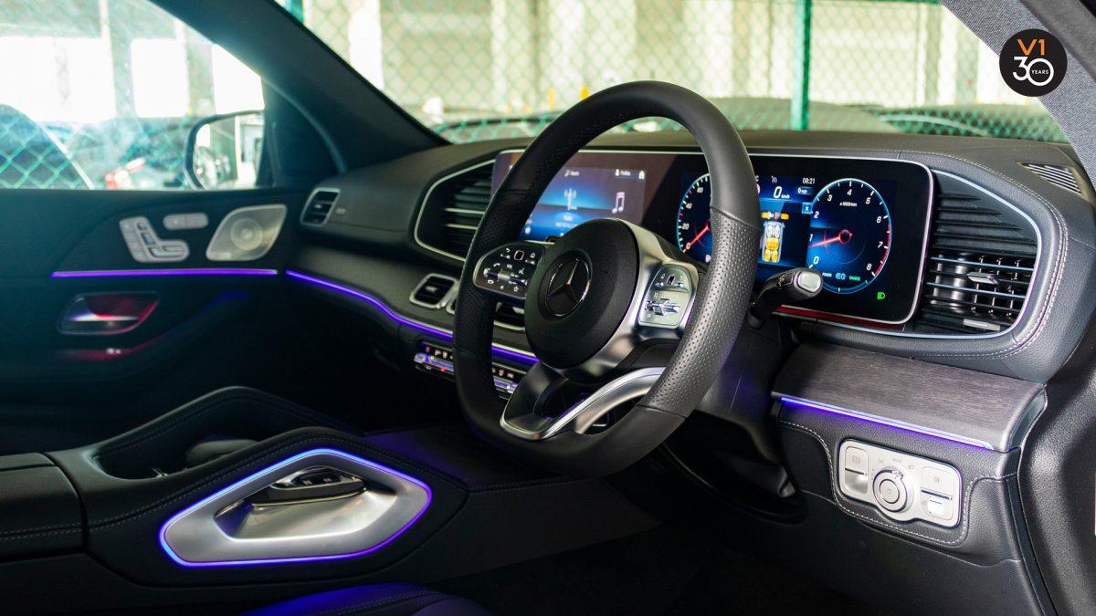 Mercedes GLE450 AMG 4Matic Premium Plus - Steering Wheel