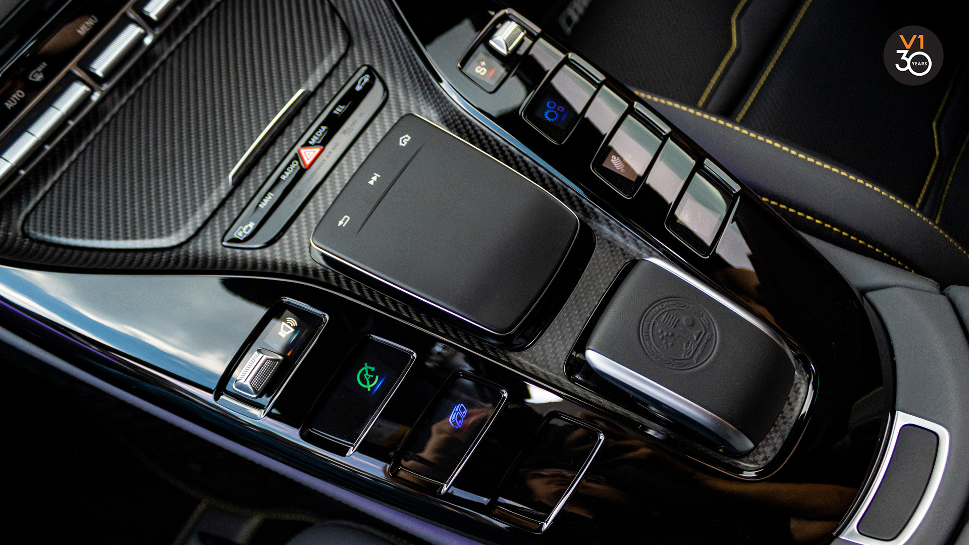 Mercedes GT63 S 4Matic+ Edition 1 AMG - Console Function Buttons