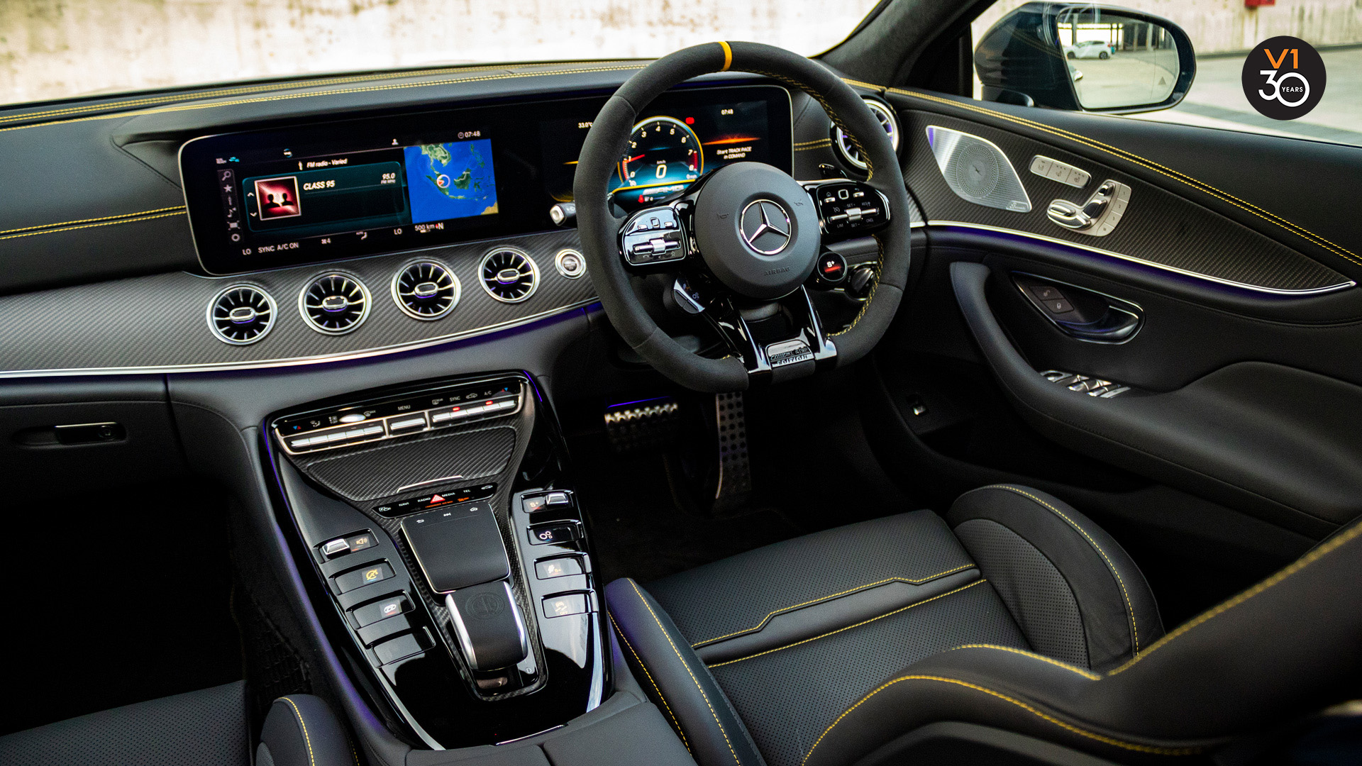 Mercedes GT63 S 4Matic+ Edition 1 AMG - Infotainment System