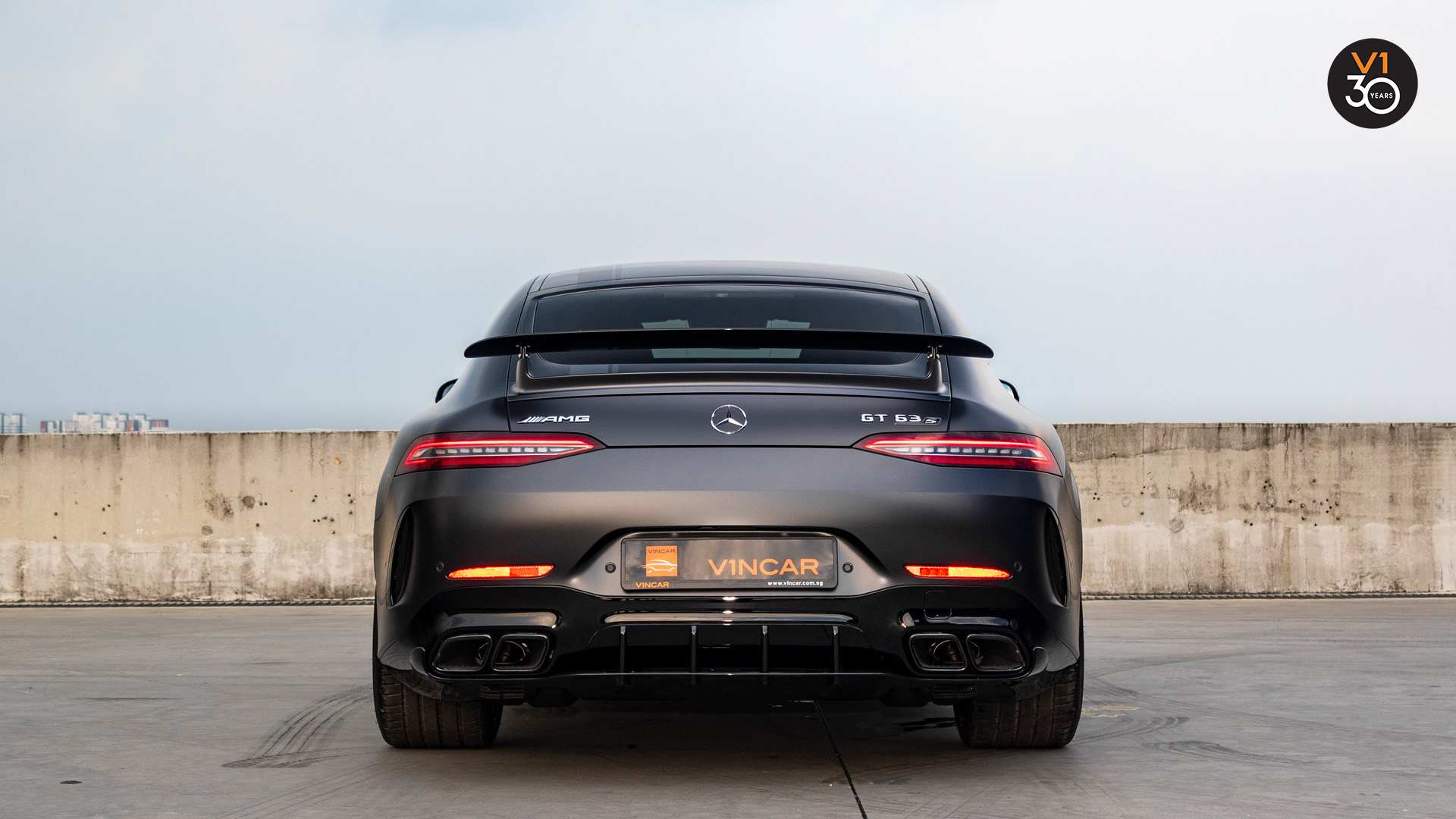 Mercedes GT63 S 4Matic+ Edition 1 AMG - Rear Direct