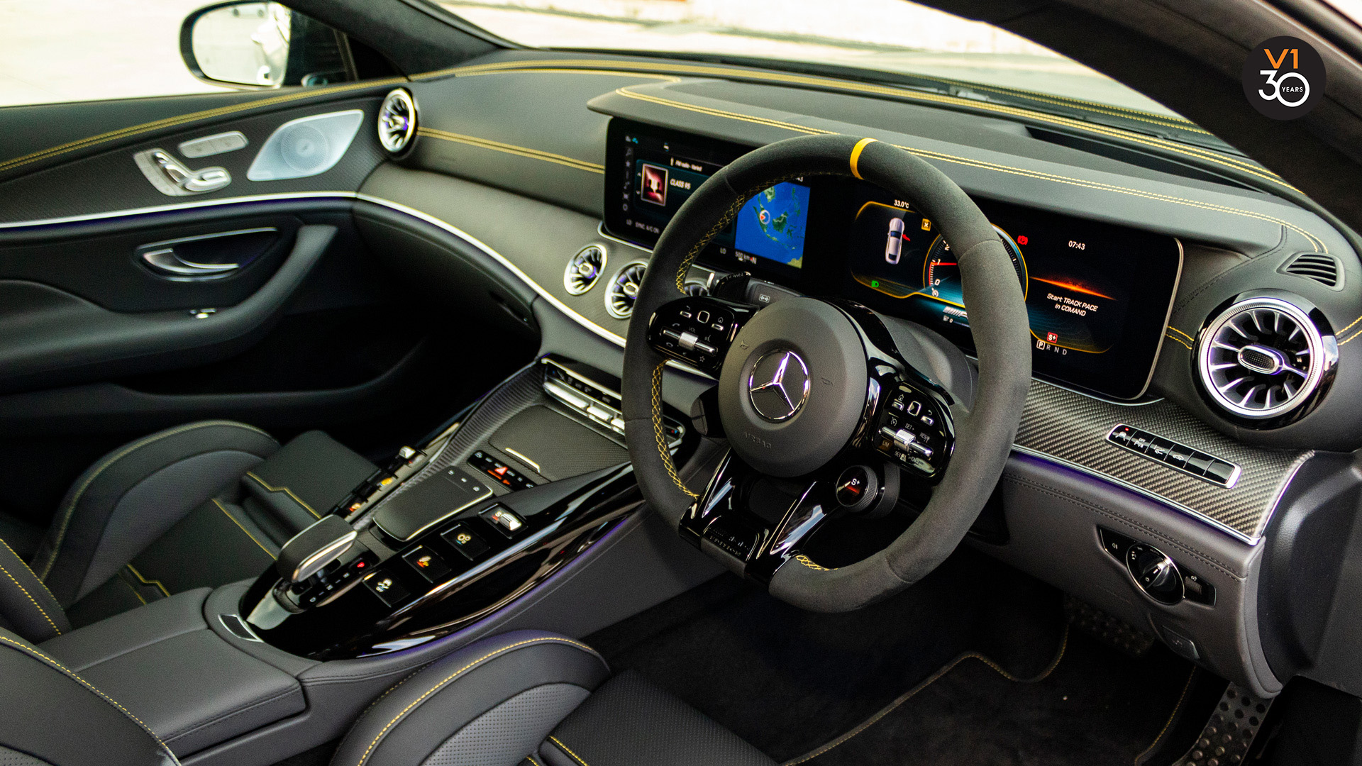 Mercedes GT63 S 4Matic+ Edition 1 AMG - Steering Wheel