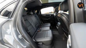 Porsche Cayenne Coupe - Backseat