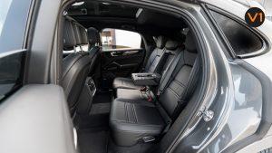 Porsche Cayenne Coupe - Backseat Pull-Down Armrest