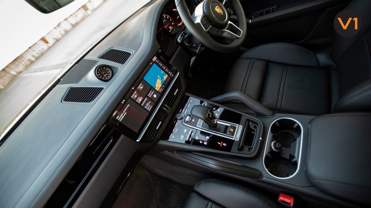 Porsche Cayenne Coupe - Front Interior