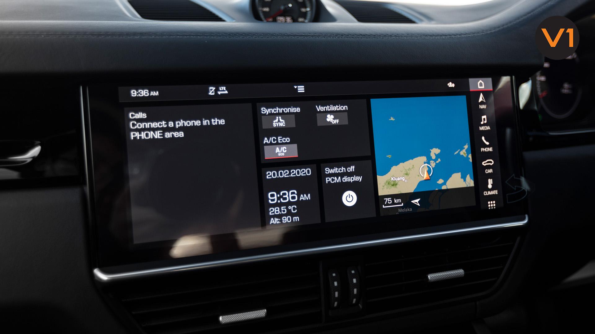 Porsche Cayenne Coupe - Screen