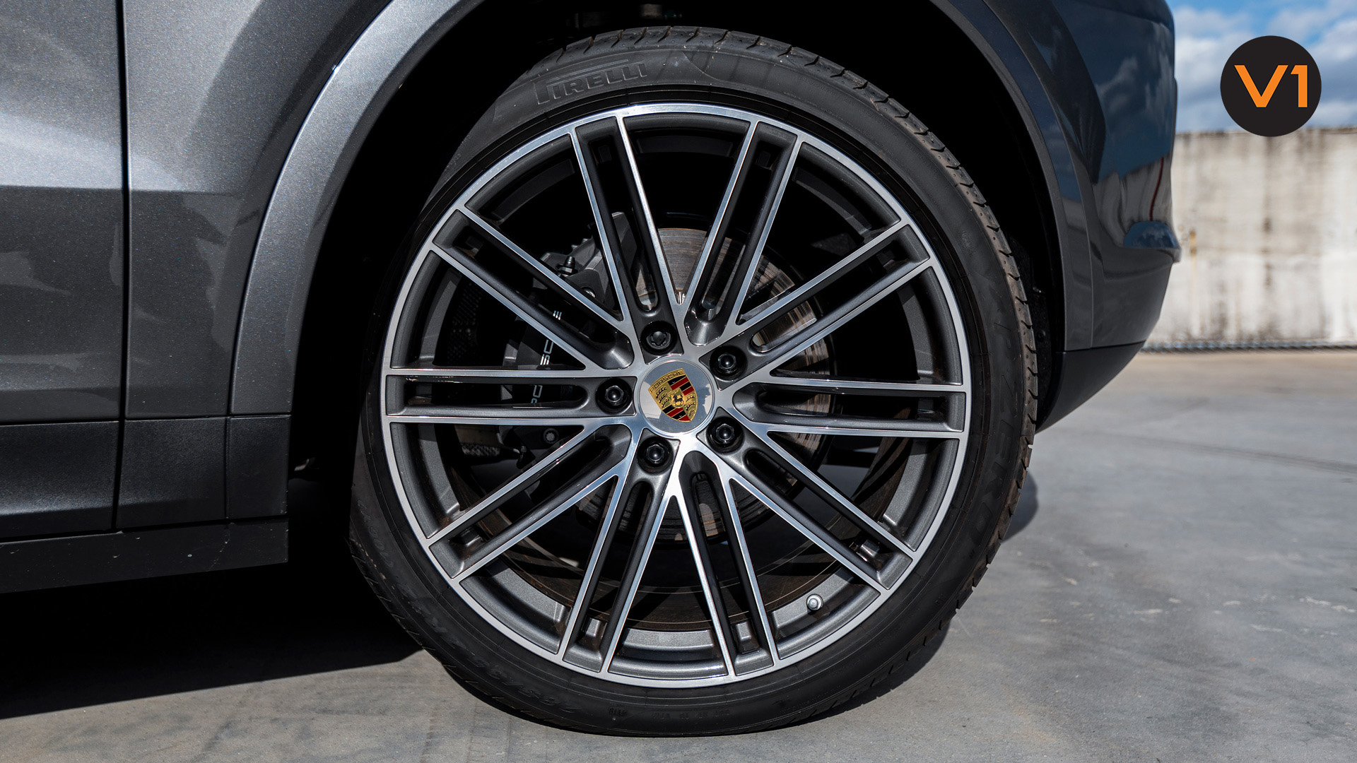 Porsche Cayenne Coupe - Wheels