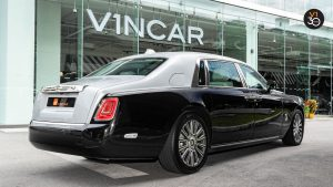 Rolls-Royce Phantom Extended Wheelbase - Rear Angle