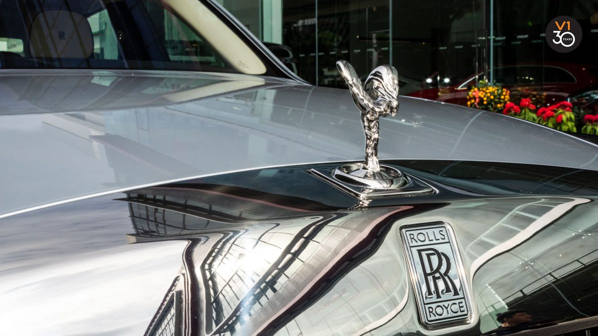Rolls-Royce Phantom Extended Wheelbase - Rolls Royce Emblem