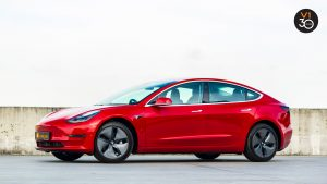Tesla Model 3 Standard Plus - Front Angle