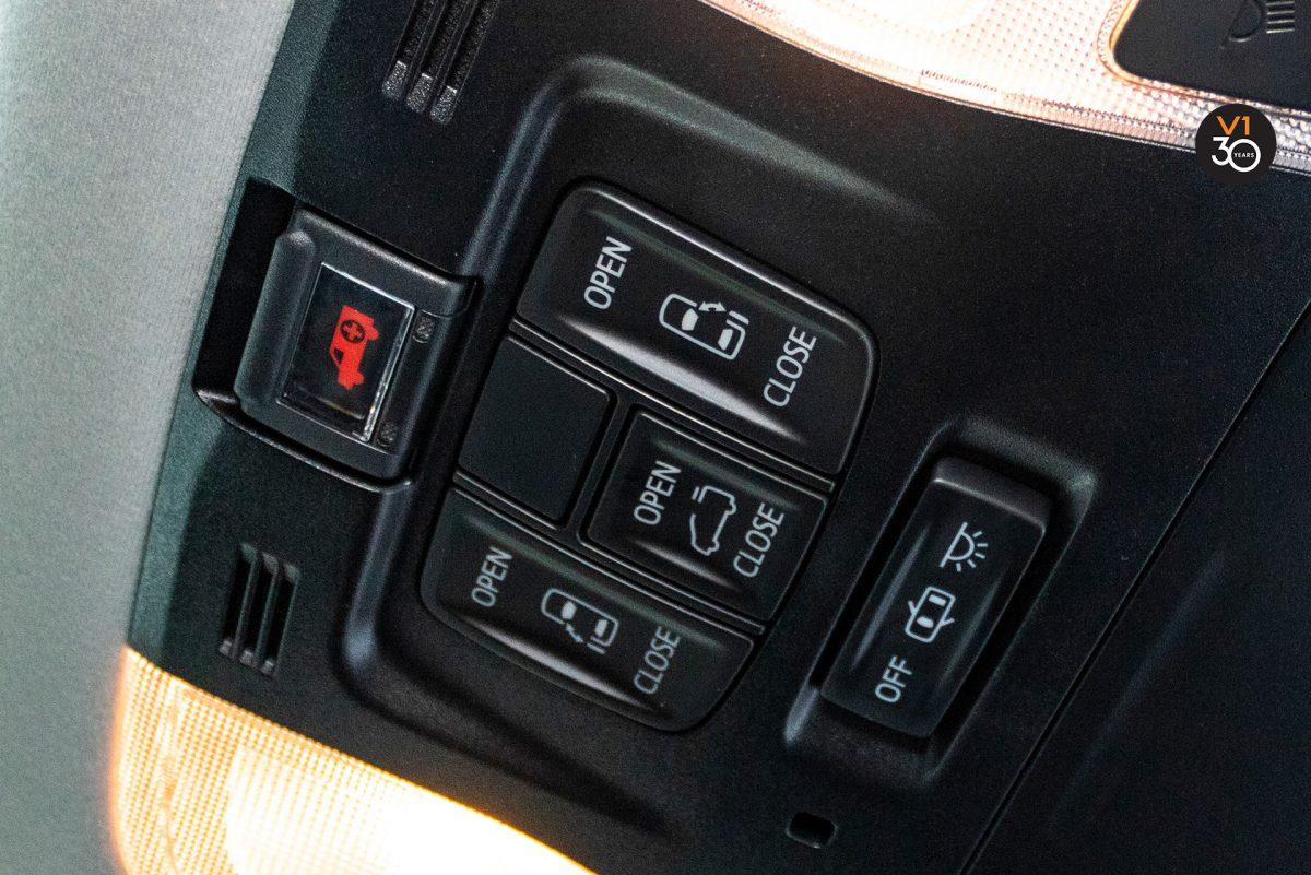 Toyota Alphard 2.5S 7 Seater - Control System