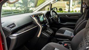 Toyota Alphard 2.5S 7 Seater - Dashboard