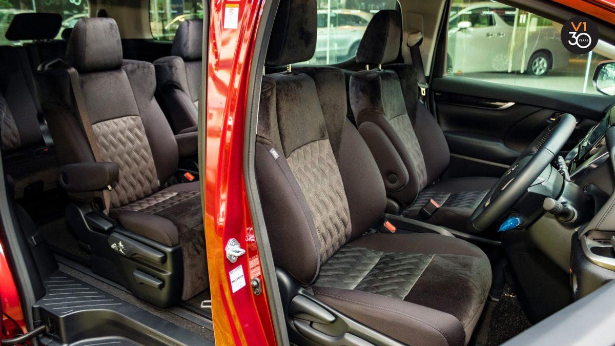 Toyota Alphard 2.5S 7 Seater - Interior Seat Angle
