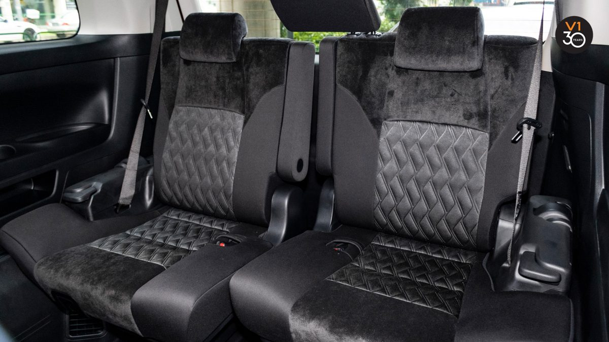 Toyota Alphard 2.5S 7 Seater - Rear Seat