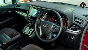 Toyota Alphard 2.5S 7 Seater - Steering Wheel