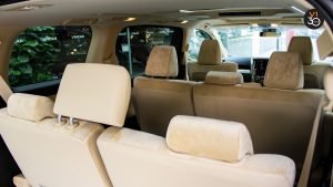 Toyota Alphard 2.5X (8 Seater) - Passenger Seat Back View