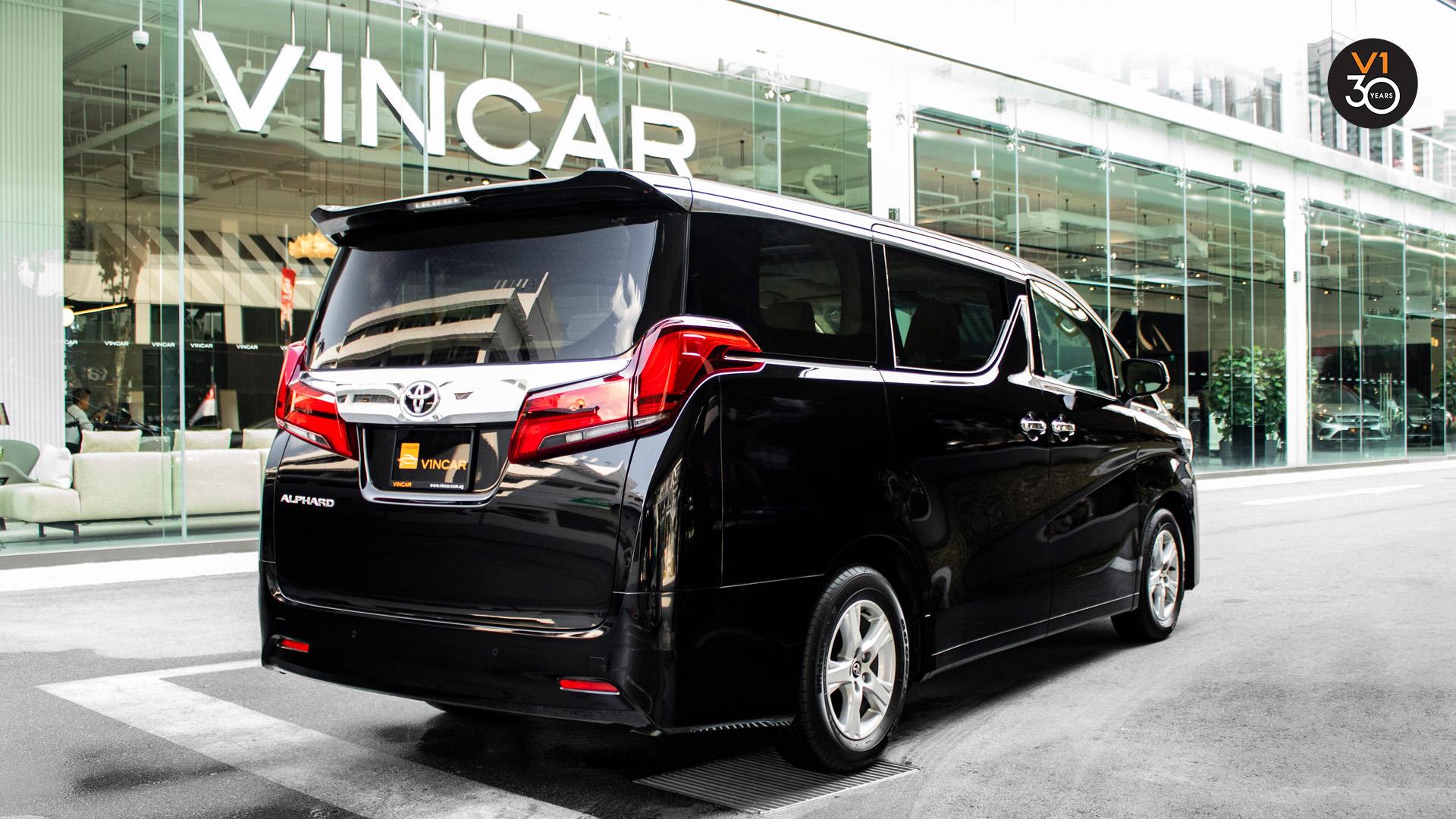Toyota Alphard 2.5X (8 Seater) - Rear Angle