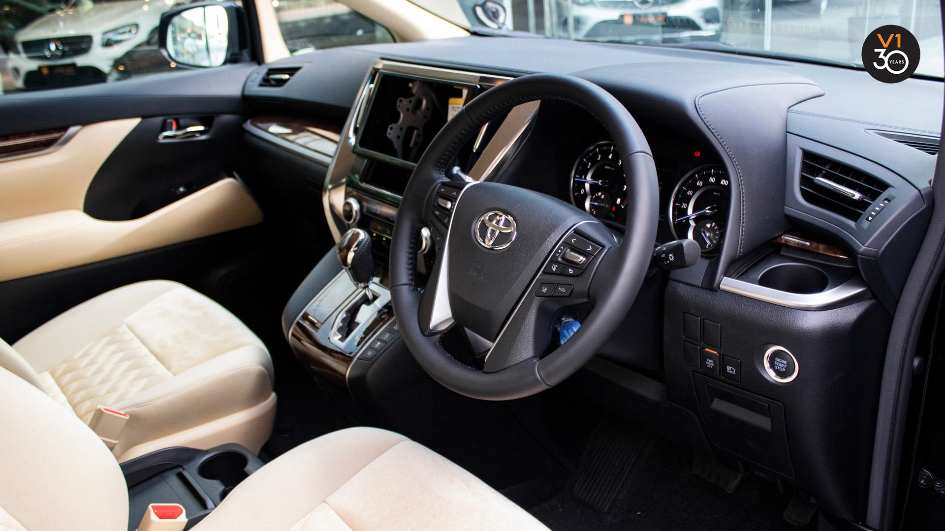 Toyota Alphard 2.5X (8 Seater) - Steering Wheel