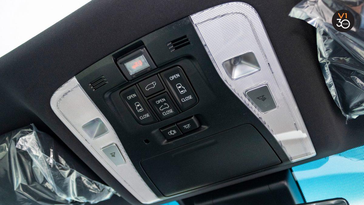 Toyota Alphard 3.5 Executive Lounge - Control System