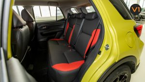Toyota Raize 1.0 XS - Rear Seats