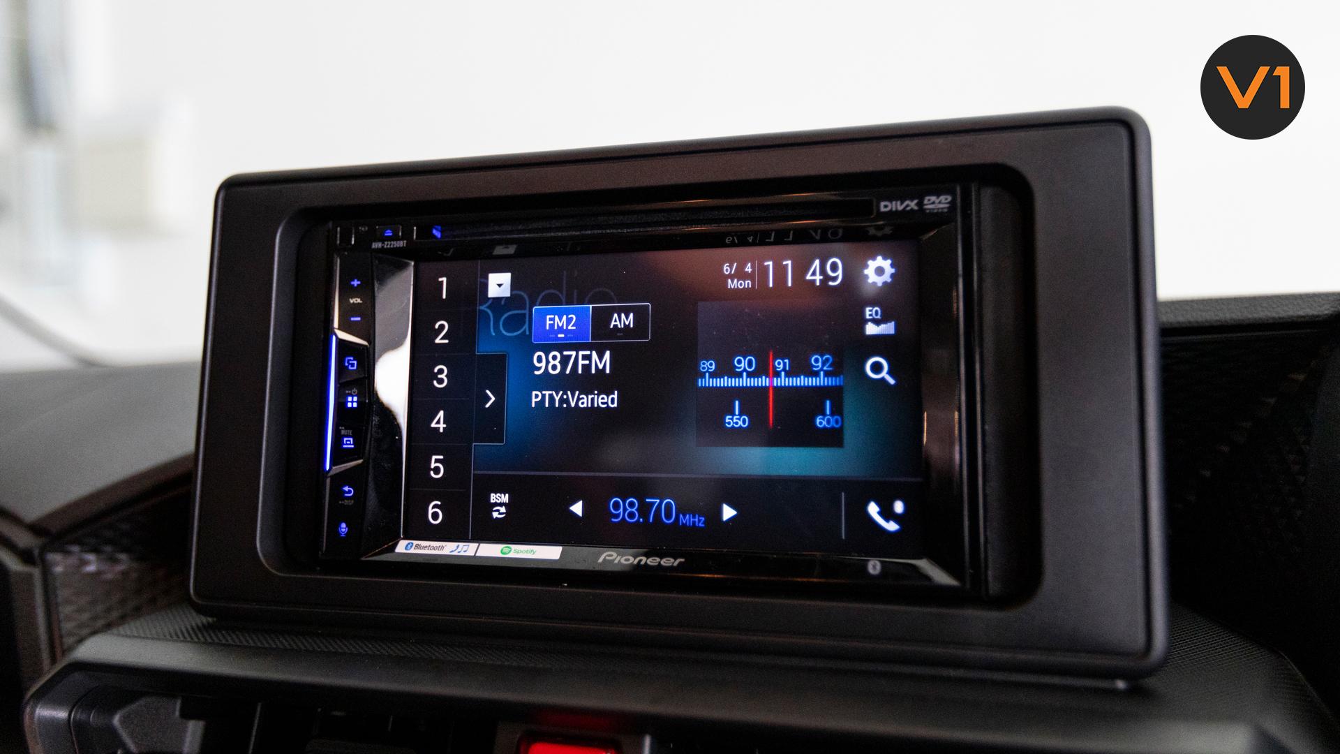 Toyota Raize 1.0 XS - Screen Display