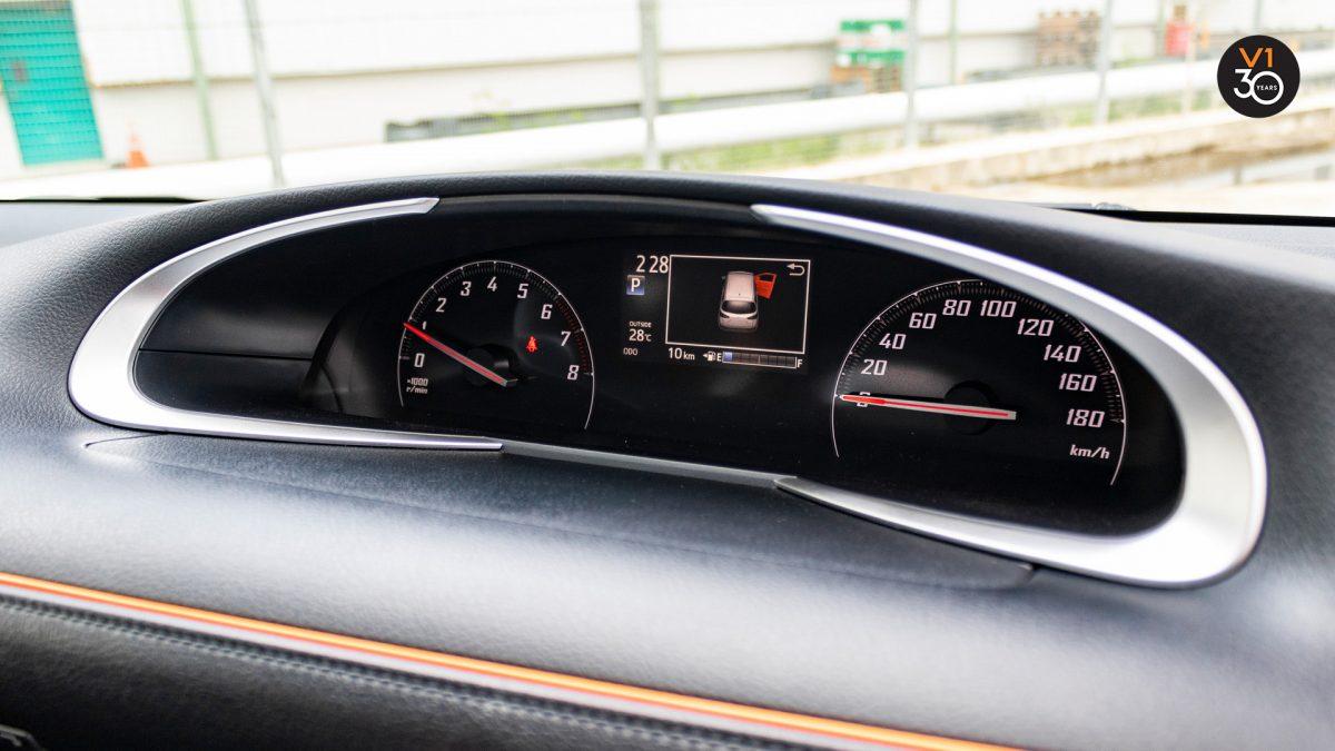 Toyota Sienta 1.5G (New Facelift) - Car Meter Dash