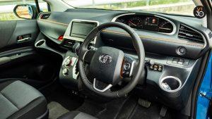 Toyota Sienta 1.5G (New Facelift) - Interior Dash