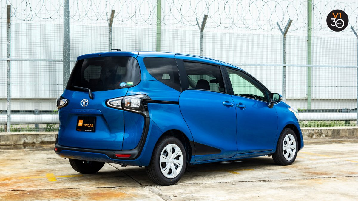 Toyota Sienta 1.5G (New Facelift) - Rear Angle