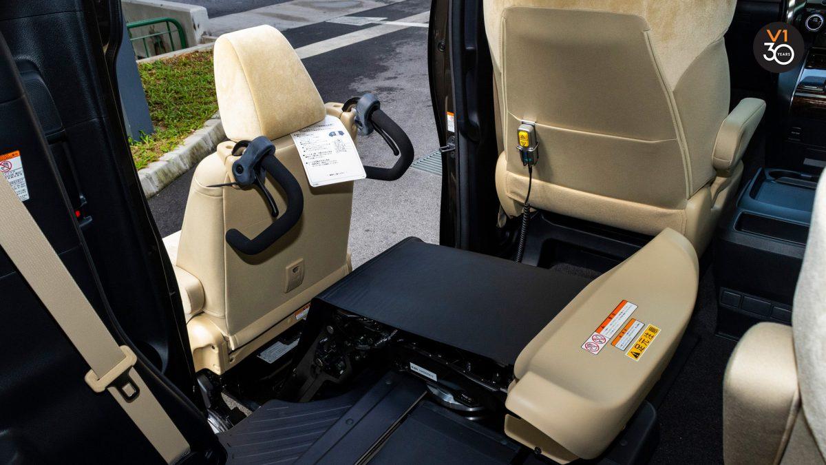 Toyota Vellfire 2.5X Welcab - Detached Chair 2